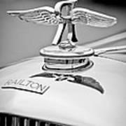 1937 Railton Rippon Brothers Special Limousine Hood Ornament Art Print