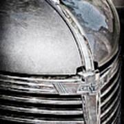 1938 Chevrolet Hood Ornament - Emblem Art Print