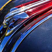 1948 Pontiac Silver Streak Hood Ornament Art Print