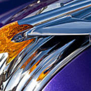 1950 Pontiac Hood Ornament Art Print
