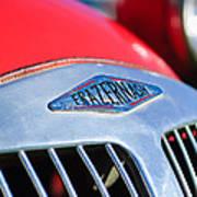 1952 Frazer-nash Le Mans Replica Mkii Competition Model Grille Emblem Art Print