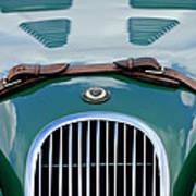 1952 Jaguar Xk 120 John May Speciale Grille Emblem Art Print