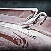 1952 Packard 400 Hood Ornament Art Print