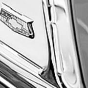 1953 Chevrolet Belair Convertible Emblem Art Print