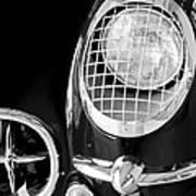 1954 Chevrolet Corvette Head Light Art Print