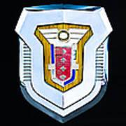 1955 Mercury Montclair Convertible Emblem Art Print
