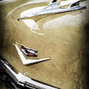 1956 Chevrolet Hood Ornament - Emblem Art Print