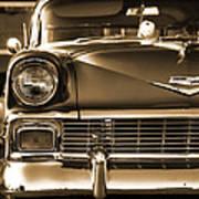 1956 Chevy Bel Air Art Print
