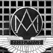 1957 Aston Martin Owner's Club Emblem Art Print by Jill Reger