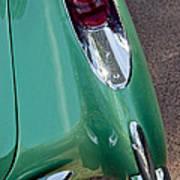 1957 Chevrolet Corvette Taillight Art Print