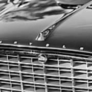 1957 Chrysler 300c Grille Emblem Art Print