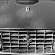 1957 Ferrari 410 Superamerica Coupe Grille Emblem Art Print