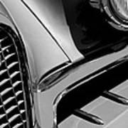 1957 Studebaker Golden Hawk Hardtop Grille Emblem Art Print