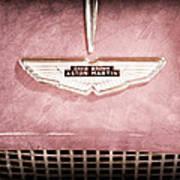 1959 Aston Martin Db Mk IIib Drophead Coupe Emblem Art Print