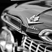 1959 Chevrolet Grille Emblem Art Print