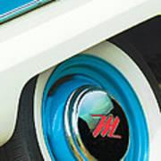 1959 Nash Metropolitan Wheel Emblem Art Print