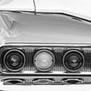 1960 Chevrolet Impala Tail Lights Art Print