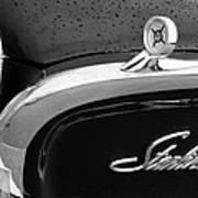 1960 Ford Galaxie Starliner Hood Ornament - Emblem Art Print