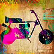1960's Mini Bike Art Print