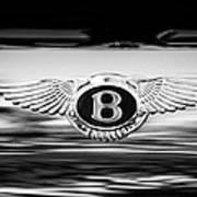 1961 Bentley S2 Continental - Flying Spur - Emblem Art Print