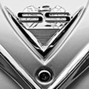1961 Chevrolet Ss Impala Emblem Art Print