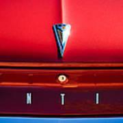 1961 Pontiac Catalina Emblem Art Print