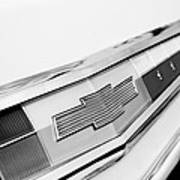 1962 Chevrolet Belair Emblem Art Print