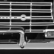1962 Chevrolet Nova Grille Emblem Art Print