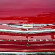1962 Chevy Impala 409 Art Print