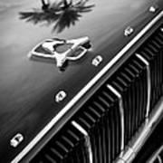 1962 Dodge Polara 500 Grille - Hood Emblem Art Print