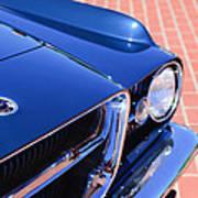 1962 Ghia L6.4 Coupe Grille Emblem Art Print