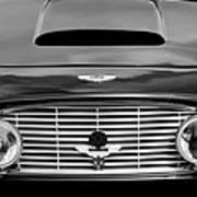 1963 Aston Martin Db4 Series V Vantage Gt Grille Art Print