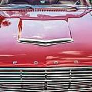 1963 Ford Falcon Sprint Convertible  Art Print