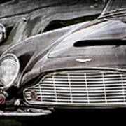 1965 Aston Martin Db6 Short Chassis Volante Grille Art Print