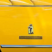 1965 Ferrari 275gts Emblem Art Print