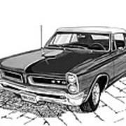 1965 Pontiac G T O Convertible Art Print