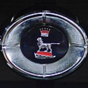 1965 Sunbeam Tiger Grille Emblem Art Print