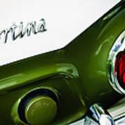 1966 Lotus Cortina Mk1 Taillight Emblem Art Print