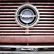1966 Plymouth Barracuda - Cuda - Emblem Art Print