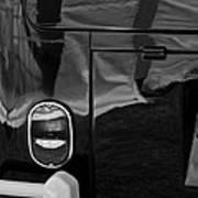 1966 Volkswagen 21-window Microbus Taillight Emblem Art Print