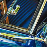 1967 Chevrolet Camaro Ss 350 Rear View Mirror Emblem Art Print