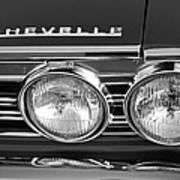 1967 Chevrolet Chevelle Super Sport Emblem Art Print
