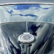 1967 Chevrolet Corvette Rear Emblem Print by Jill Reger