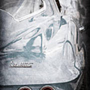 1967 Chevrolet Corvette Taillight Emblem Art Print