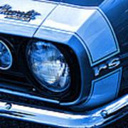 1967 Chevy Camaro Rs Art Print