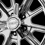 1968 Ford Mustang Fastback 427 Shelby Cobra Wheel Art Print