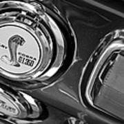 1968 Ford Mustang - Shelby Cobra Gt 350 Taillight And Gas Cap Art Print