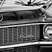 1969 Cadillac Eldorado Grille Art Print