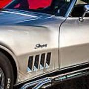 1969 Chevrolet Corvette 427   Art Print