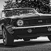 1969 Chevy Camaro Ss Art Print